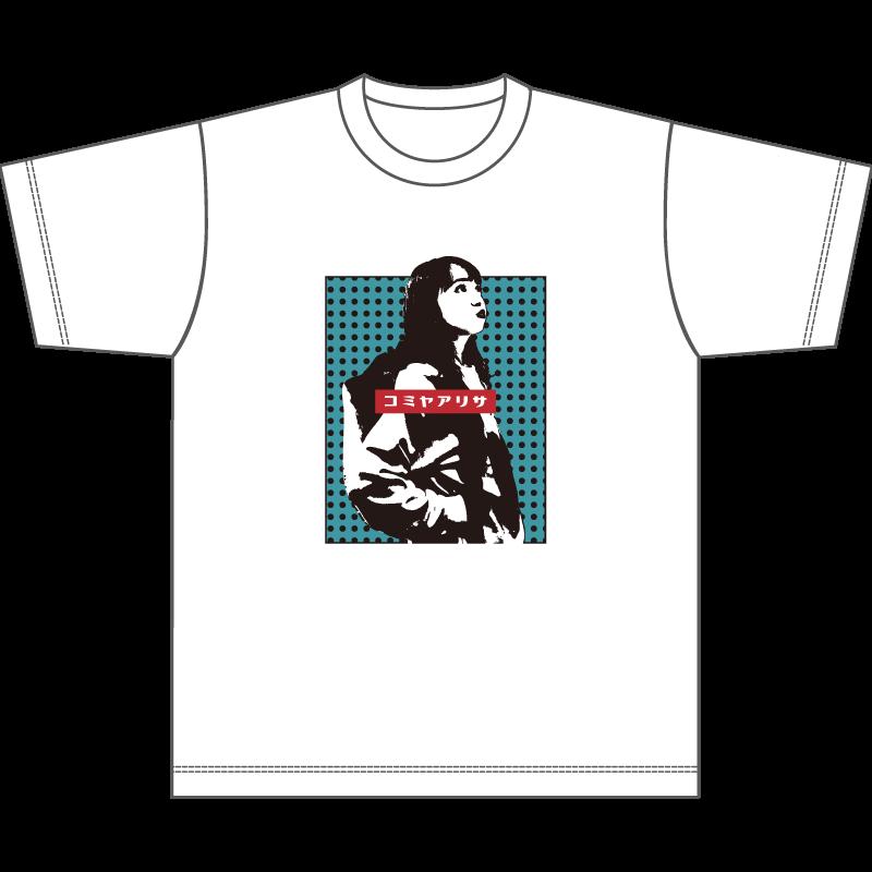 受注販売【小宮有紗9thファンミーティング~Arisa's Garden 2020】ビックシルエットTシャツ