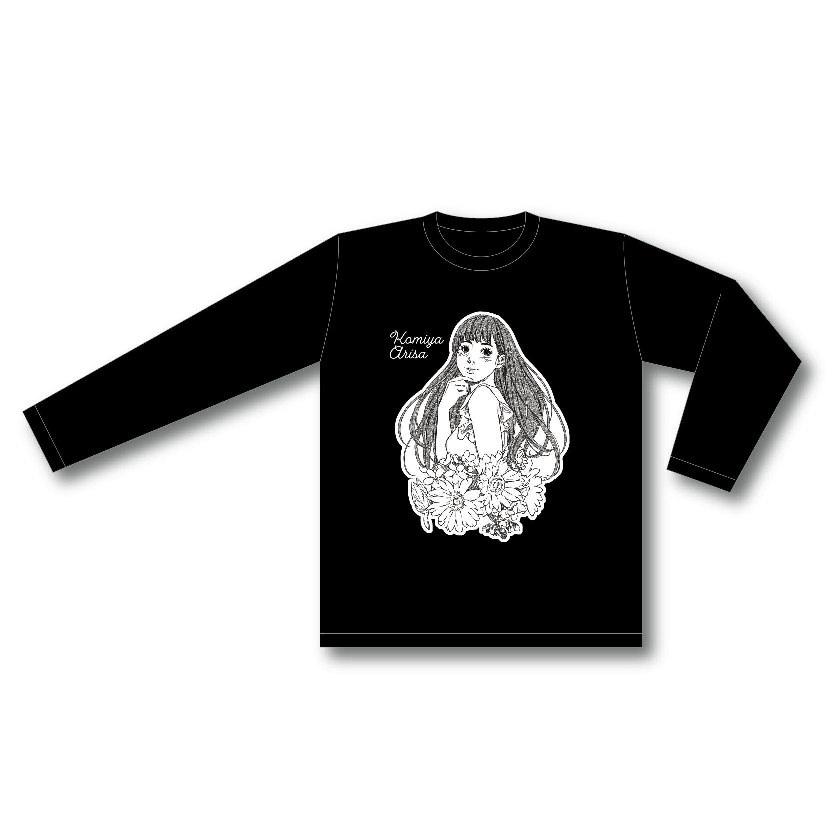 【小宮有紗 BIRTHDAY PARTY 2021】ロングTシャツ 黒