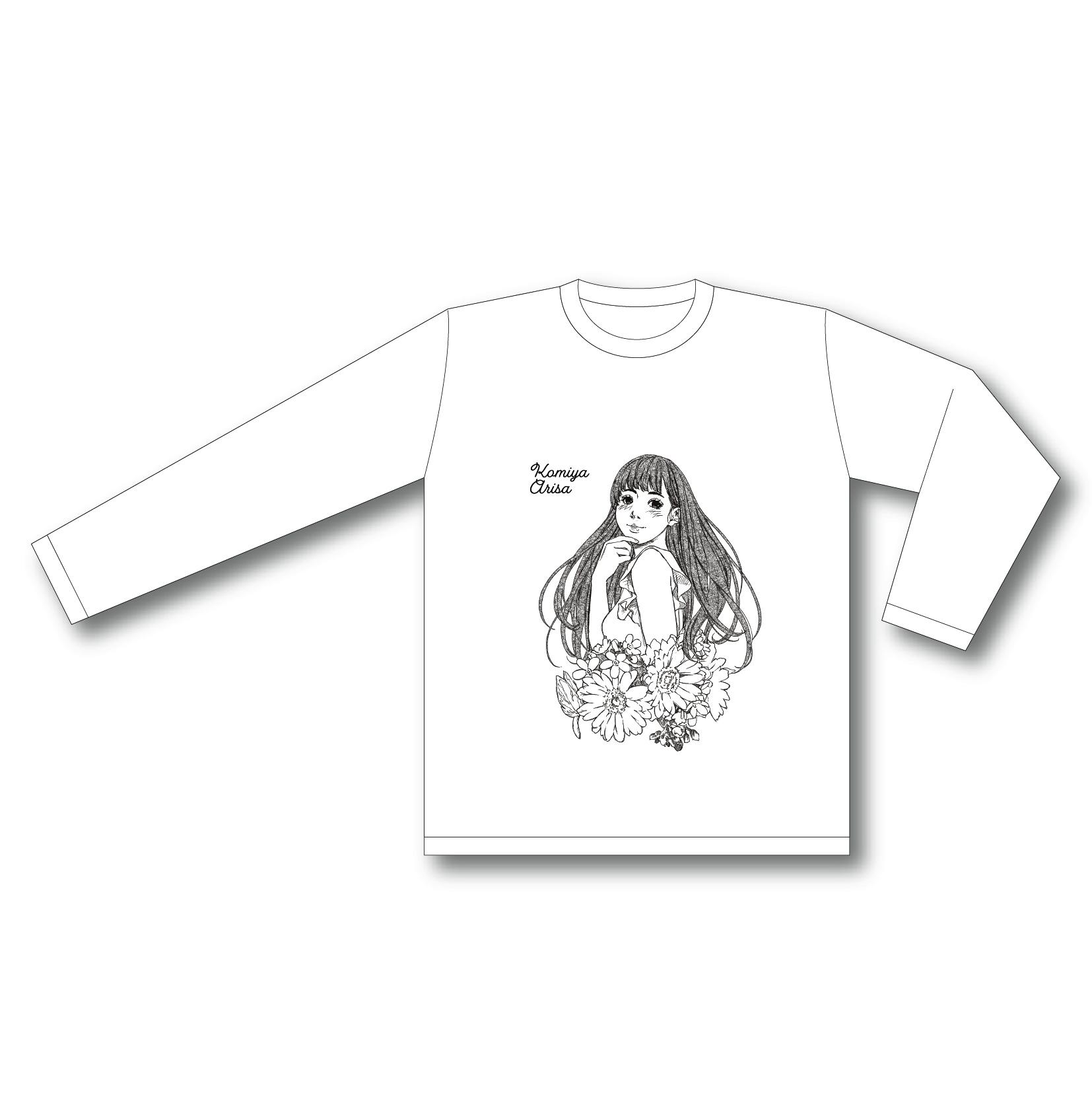【小宮有紗 BIRTHDAY PARTY 2021】ロングTシャツ 白
